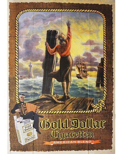 Cigaretten Gold Dollar American Blend vers 1950