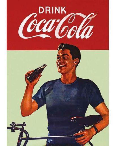 Drink Coca - Cola vers 1950