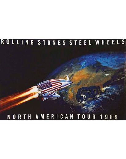 Rolling Stones North Amercica Tour 1989 Steel Wheels 1989