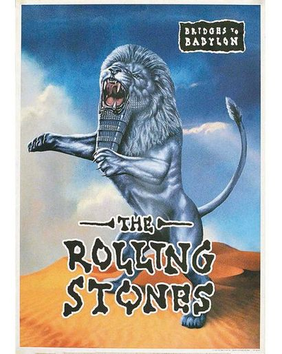 Bridons to Babylon The Rolling Stones 1997 Promotour Inc. Under License To TNA  1...