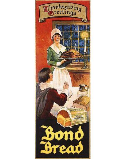 Thanksgiving - Bond Bread Thanksgiving 1935