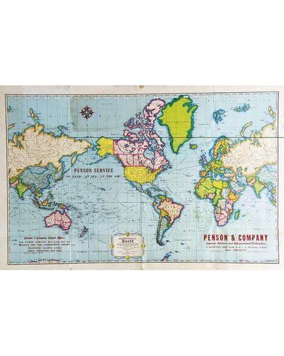 Penson & Company Customs Brokers & International Forwaders 1956 New-York