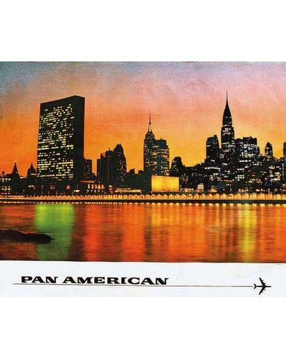 New York Pan American vers 1960
