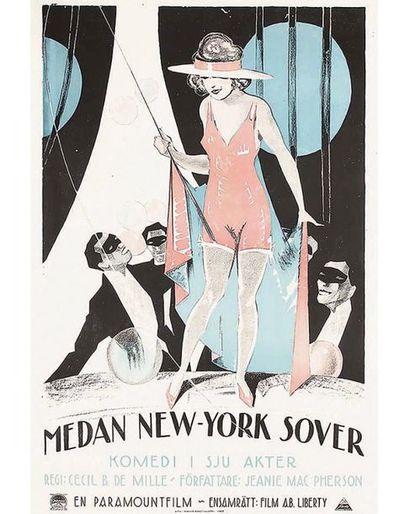New York Medan New-York Sover Cecil B DE MILLE 1923