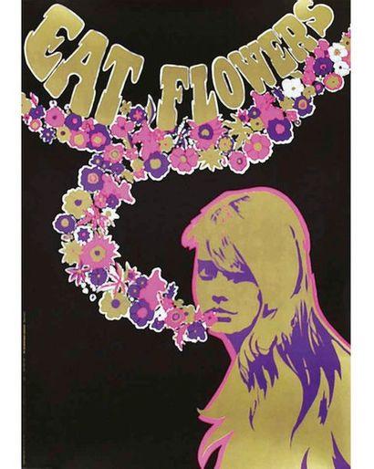 SLABBERS RONALD Affiche entoilée/ Vintage Poster on Linnen T.B.E. A +  73,5 x 52...