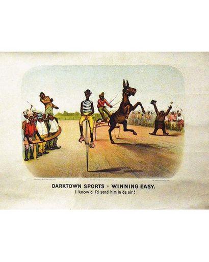 Darktown Sports Winning Easy I know'd I'd send himin the Air ! 1885