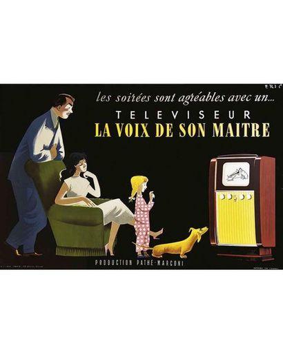 ERIC SFIPE Paris   Affiche entoilée/ Vintage Poster on Linnen T.B.E. A - restaurations...