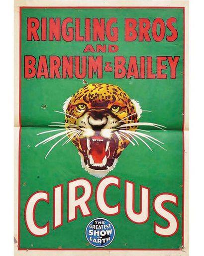 Circus Ringling Bros and Barnum & Bailey vers 1940