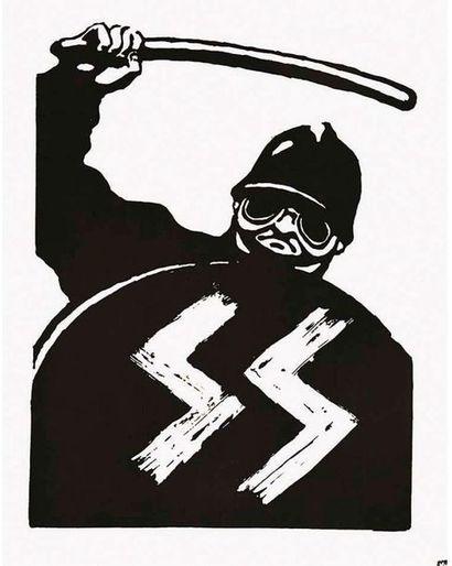 CRSSS en Noir & Sérigraphie  Mai 68 1968