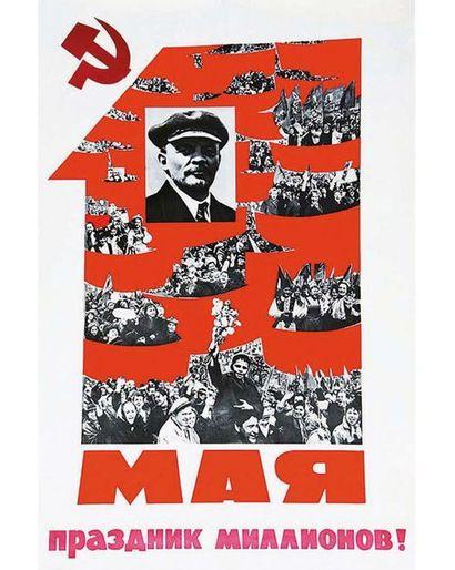 Mai 68 Affiche Russe 1968
