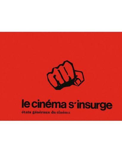 Le Cinéma s'Insurge. États Généraux du_x000D_ cinéma très rare - very rare - Mai 68 Rare 1968