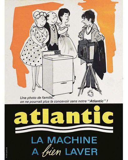 Une Photo de Famille on ne pourrait plus la concevoir sans notre Atlantic vers 1960