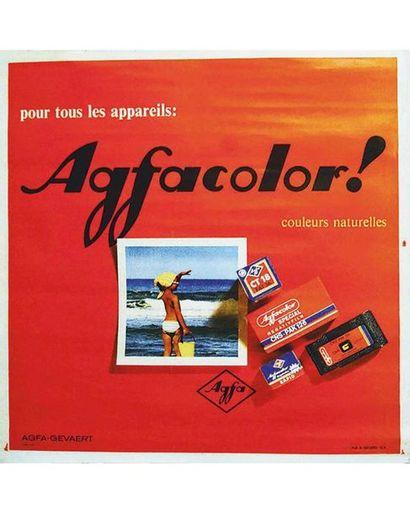 Agfa Color Pour Tous Les Appareils Couleurs Naturelles vers 1960