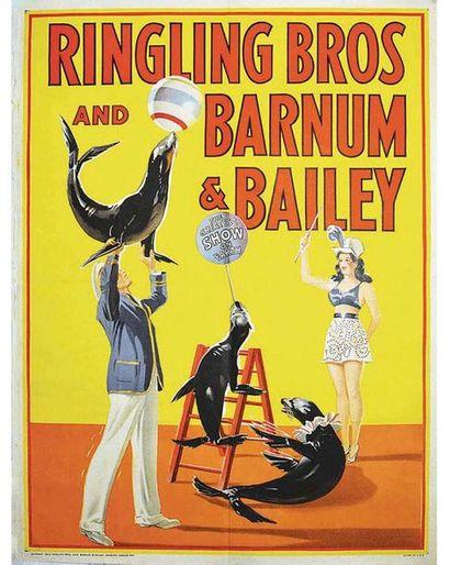 Ringling Bros and Barnum & Bailey Circus 1945