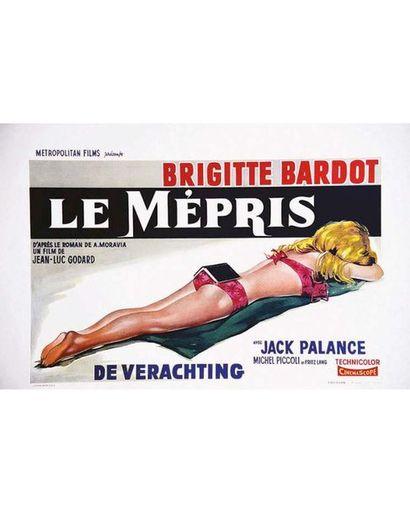 Le Mépris ( De Verachting ) de Jean Luc Godard 1963