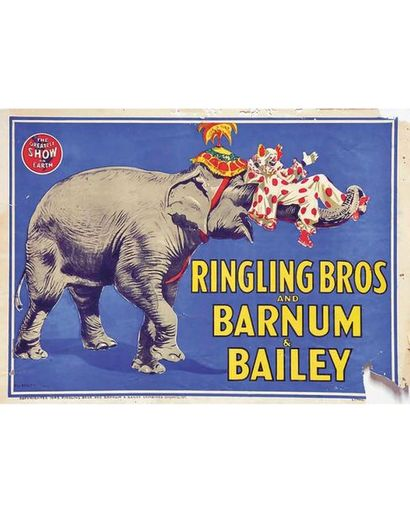 BAILEY BILLY 1 Affiche Non-Entoilée / Vintage Poster not lined B.E. B + manques,...