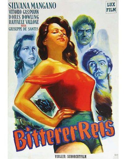 Bitter Rice - Bitterer Reis Lux Film 1949