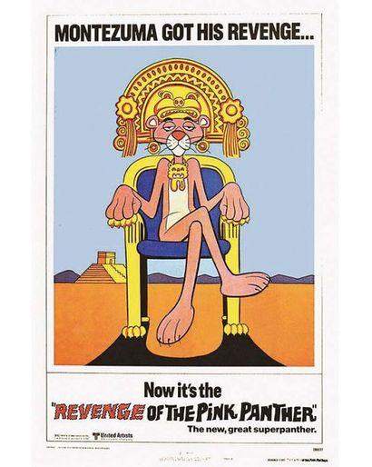 Montezuma Got his Revenge Now It's Th Revenge of The Pink Panther 1978