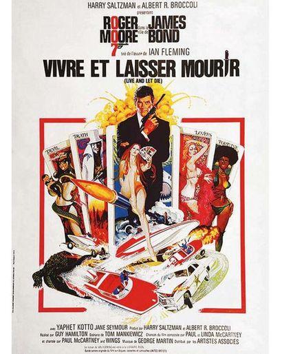 Vivre et Laisser Mourir (Live and Let Die) Roger Moore