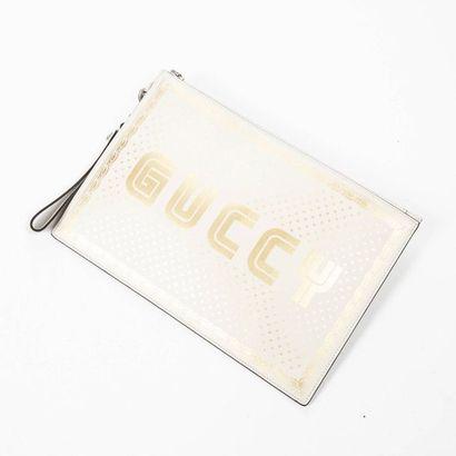 """GUCCI - Alessandro Michele - Circa 2020 Pochette """"Guccy Sega"""" - """"Guccy Sega"""" Clutch..."""