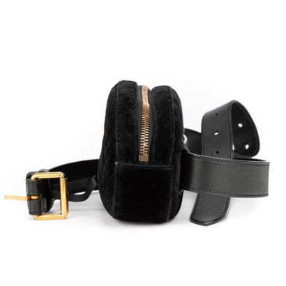 """GUCCI - Alessandro Michele - Circa 2020 Sac-ceinture """"GG Marmont"""" - """"GG Marmont""""..."""