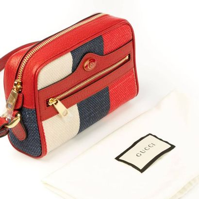 "GUCCI Sac ""Ophidia Sylvie Stripe"" mini - ""Ophidia Sylvie Stripe "" mini bag Striped..."