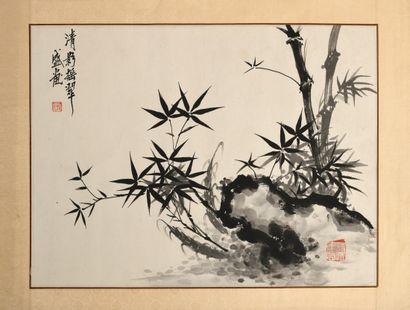 CHINE, He Qian (d'aprés, XXe siècle)