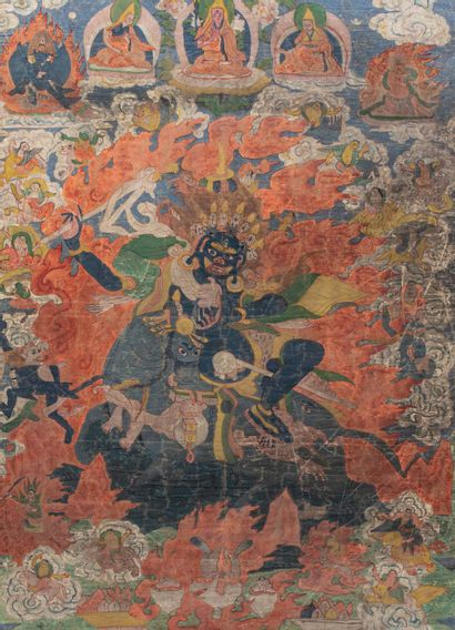 Tibet, XIXe siècle
