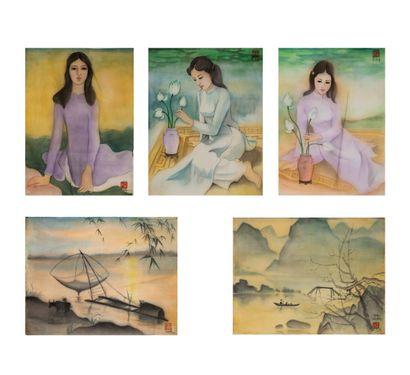 LE CHAN (1940-2004)