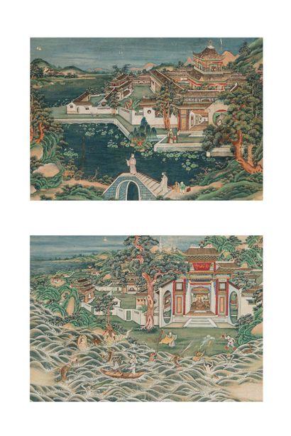 Chine , dynastie qing