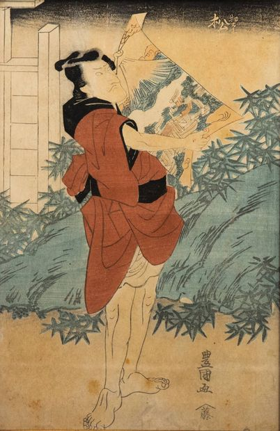JAPON, XIXe siècle - Utagawa Toyokuni II (1777-1835)