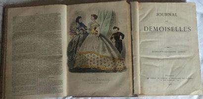 Modes. Journal des demoiselles. 1866-1874. 2...
