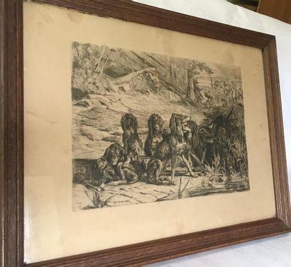 VENDU SUR DESIGNATION Louis GUY (1824-1888)...
