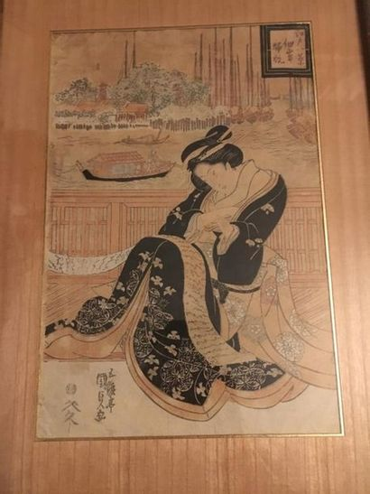 JAPON, XIXe siècle Utagawa Kunisada (Toyokuni...