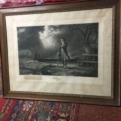 C. SCHWENINGER, d'après Grande gravure encadrée...