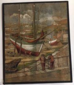 Marc CHOISNARD, (1879-1966) Aquarelle représentant...