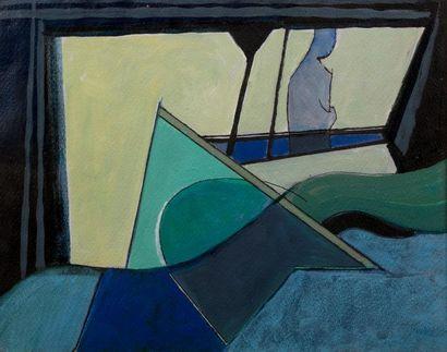 Henri CLEMENT- SERVEAU (Paris 1886 - 1972)...
