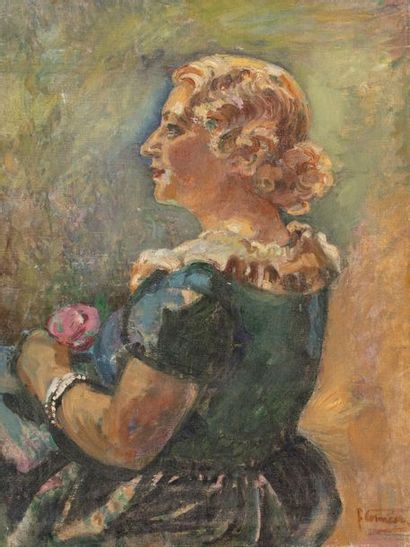 Fernande CORMIER (Toulon 1888- Sanary 1964)...