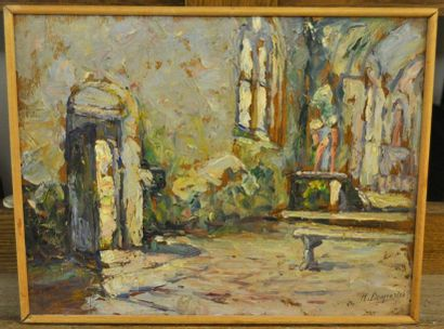 Henriette DESPORTES (1877 - 1951) Interieur...
