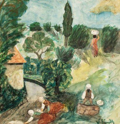 Willy EISENSCHITZ (Vienne 1889 - Paris 1974)...