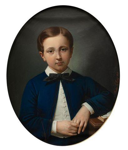 Théodore FANTIN-LATOUR (Metz 1805-Paris 1875)...