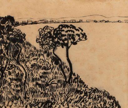 Attribué à Adolphe FEDER (1886-1943) Pins...
