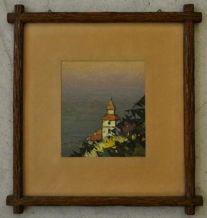Frédéric FIEBIG (1885 - 1953) Paysage Huile...