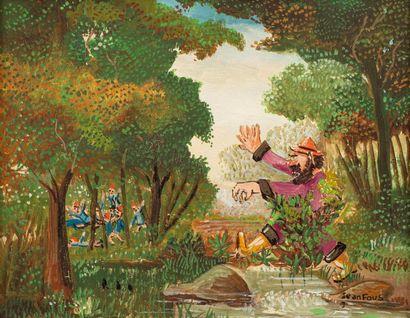 Jean FOUS (Paris 1901 - L'Union 1971) L'ogre,...