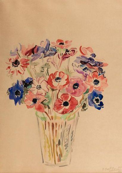 Geneviève Marie GALLIBERT (1988-1978) Bouquet...