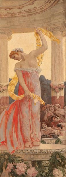 Auguste François GORGUET (Paris 1862 - 1927)...