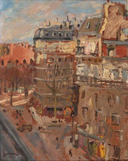 Paul HANNAUX (Paris 1899 - Luxembourg 1954)...