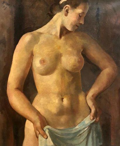 Jean-Philippe KAMM (1882 - 1959) Nu de femme...