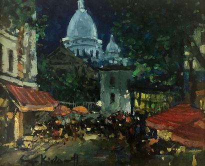 Serge KISLAKOFF (Yalta 1897- Reims 1980)...