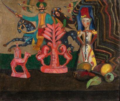 Eugène KONOPATZKY (1886-1962) Composition...